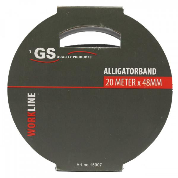 Alligator tape 20m x 48mm grijs