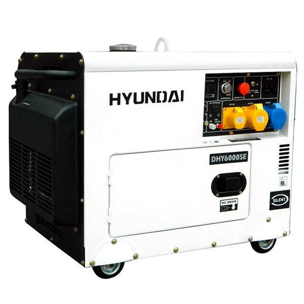 Diesel Generator In Hyundai Diesel Generator 53 Kw Diesel Generatoren