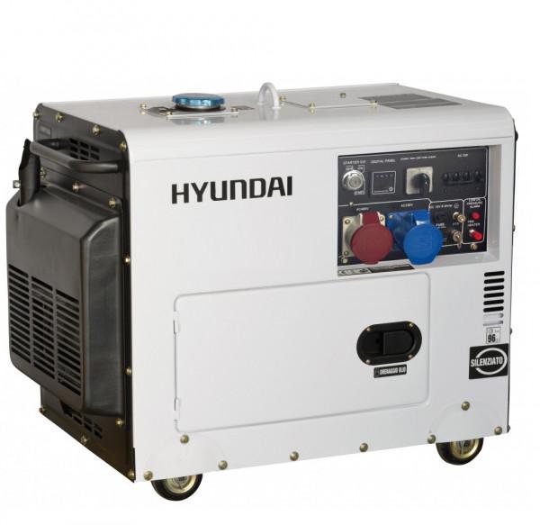 Hyundai diesel generator 7,0kW