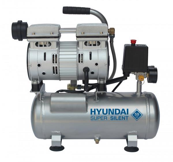 Hyundai stille compressor 6 liter